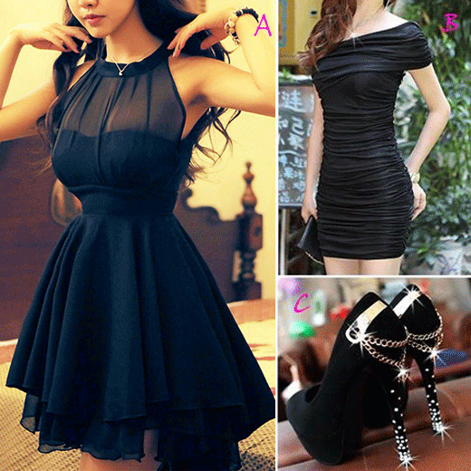 Chiffon Dress, Casual Dress And Stiletto Shoes #999867 - I'm Addicted To You Find More: http://www.imaddictedtoyou.com/