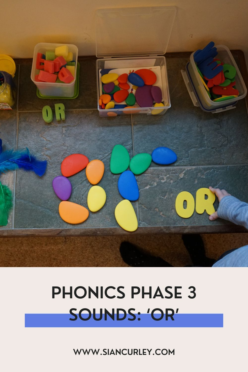 Phonics Phase 3 Sounds   An EYFS Moving and Handling Activity