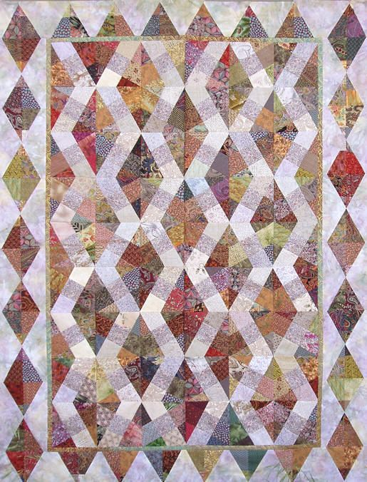 Venetian-Tiles...in different colors I think...maybe not so many ... : different quilting patterns - Adamdwight.com