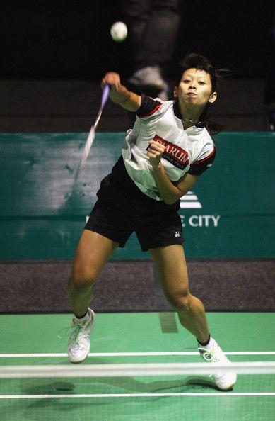 Maria Febe Kusumastuti Photos Photos New Zealand Badminton Open 2009 Finals Badminton Photos Badminton Sport Outfits Gym
