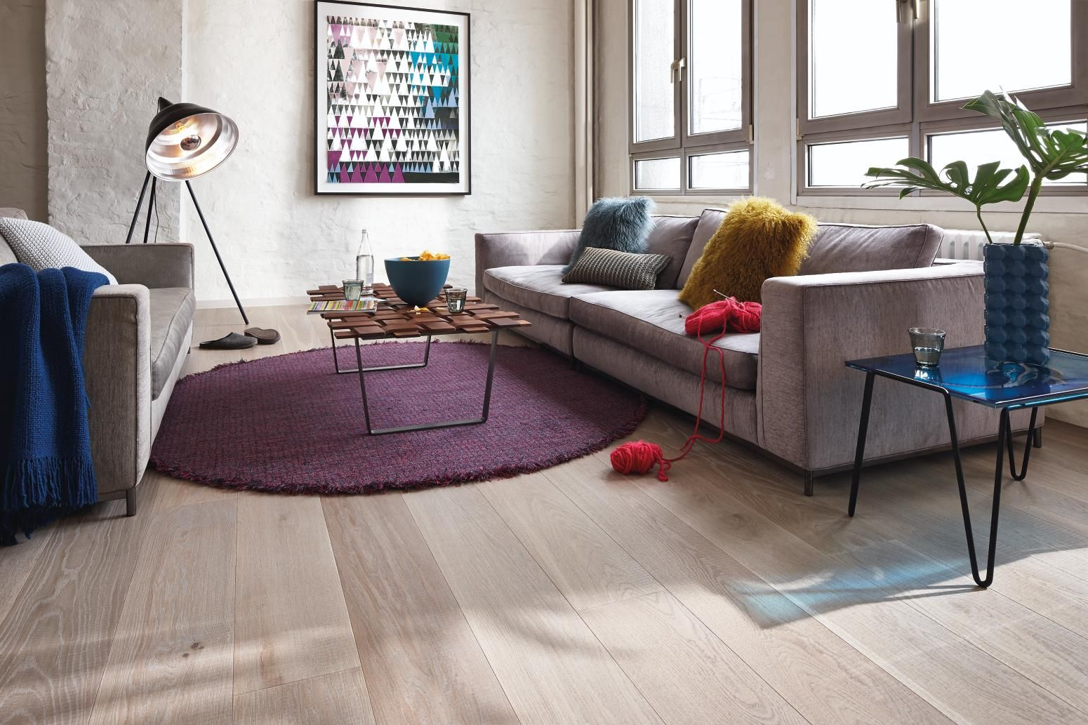 Boen Oak Sandy Grey   A perfect blend of timeless elegance with contemporary living