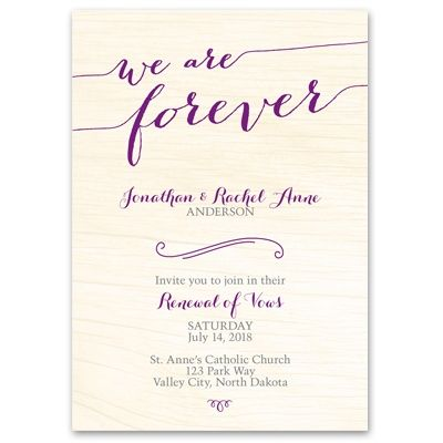 An Event As Significant Reaffirming Your Vows Deserves A Unique And Meaningful Vow Renewal Invitation