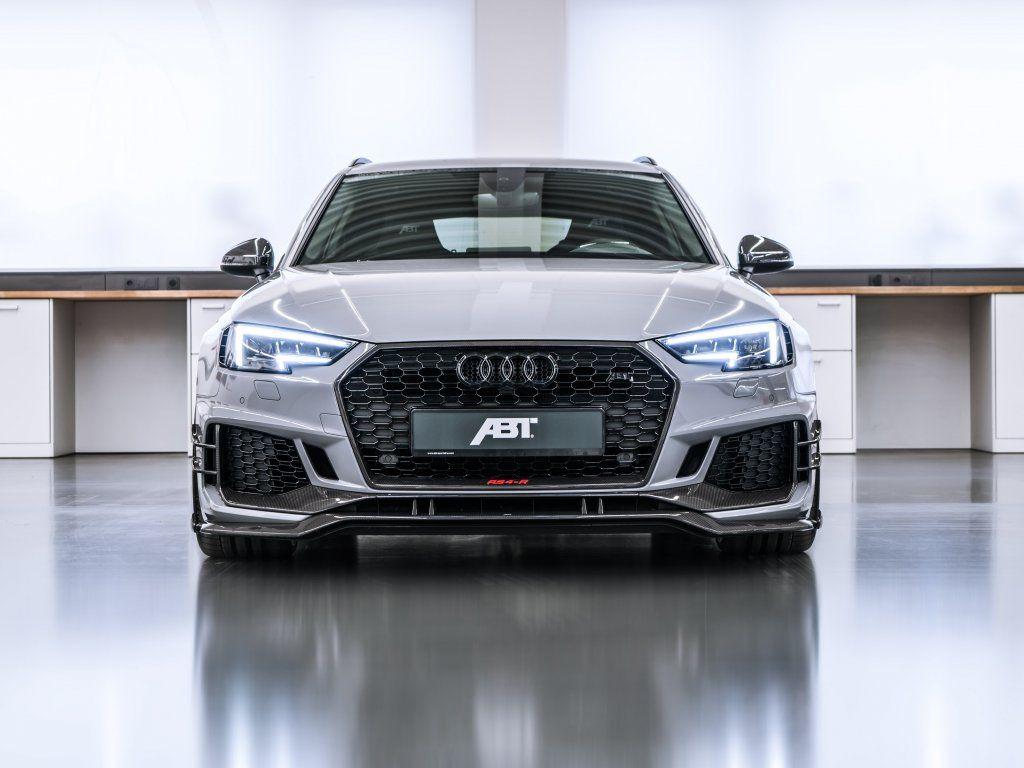 2018 Abt Audi Rs4 R Avant Luxurious Car Front Wallpaper Audi