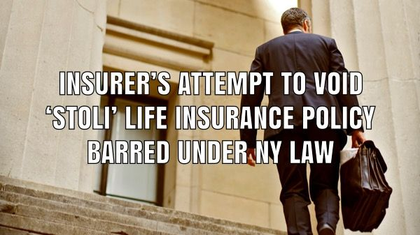 The U.S. Second Circuit ruled that an insurance company's ...