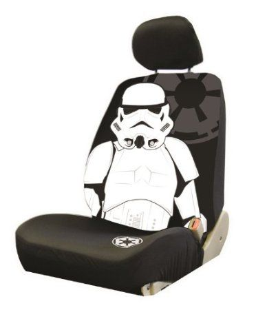 Star Wars Stormtropper Car Seat Cover
