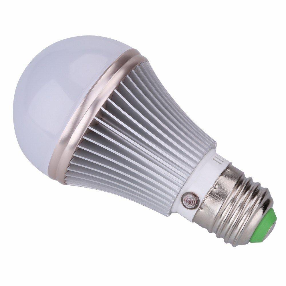 Eleoption E27 5w Dusk To Dawn Light Sensor Bulb White Warm White Nature White Led Bulb Lamp Lights 85 265v