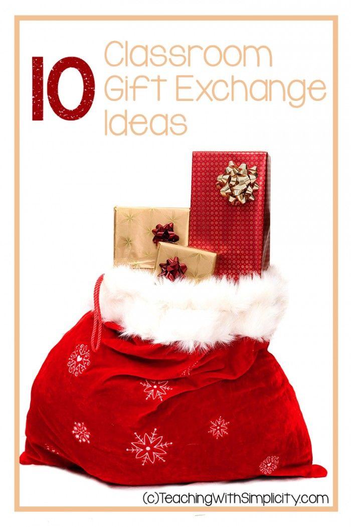 10 Classroom gift exchange ideas  5th Grade  Pinterest  Gift