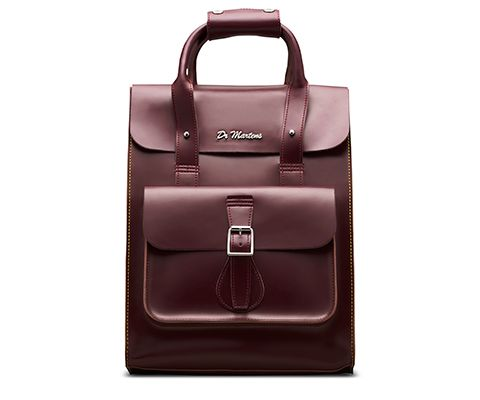 Small Leather Backpack CHERRY RED AB020602