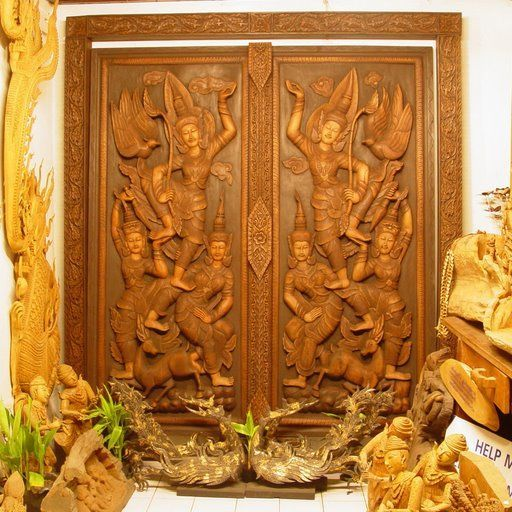 wood carved front doors for reference - Kerala home & 5c5c38e4870033dfe5d09e001ba38ac2.jpg 512×512 pixels | Thai design ...