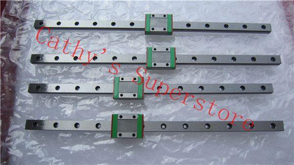 Hgh15ca Original Hiwin Linear Guide Hgr15 L300mm Linear Guide Rail 2pcs Hgh15ca Carriages Cnc Parts Linear The Originals