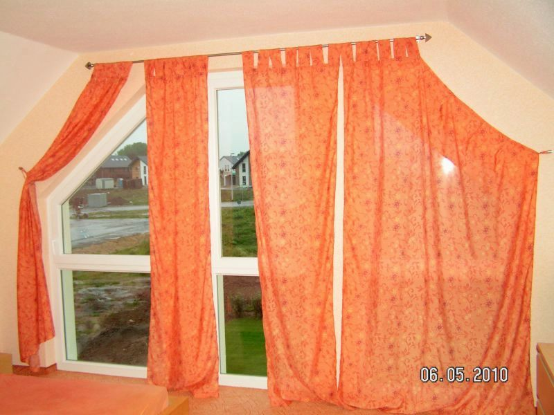 Vorhänge Schräge Fenster gardinen für schräge fenster 4 schlafzimmer