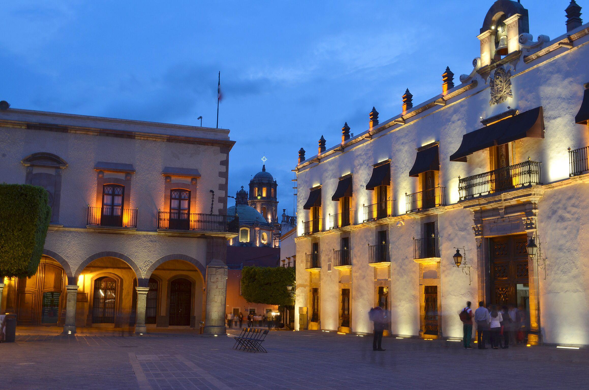 Querétaro - Plaza de Armas | Plaza de armas, Fotografia, Queretaro