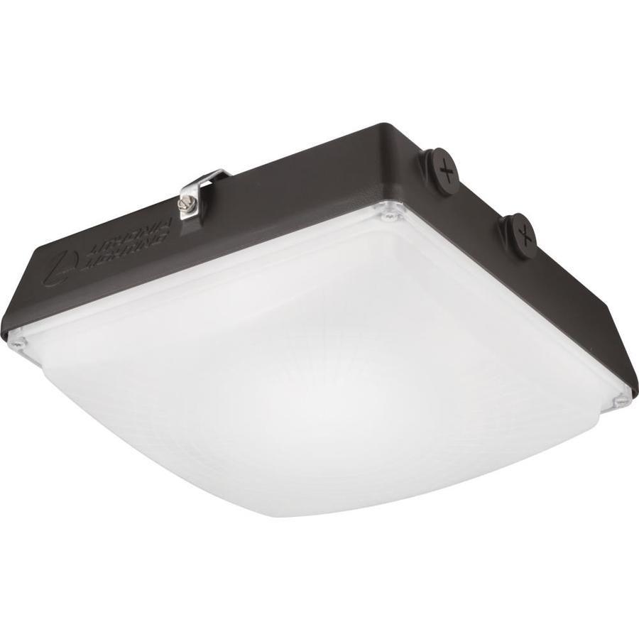 Lithonia Lighting 6600 Lumen Bronze Integrated Led Canopy Light Cnyledp240kmvoltddb In 2020 Canopy Lights Lithonia Lighting Led Ceiling Lights