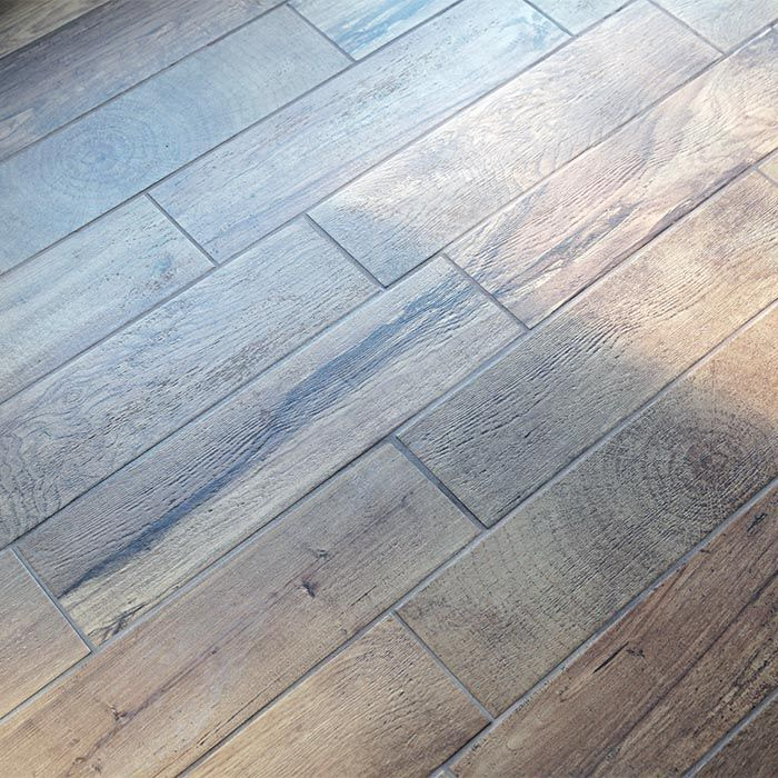 How to install WoodLook Tile Floor. Porcelain wood tile
