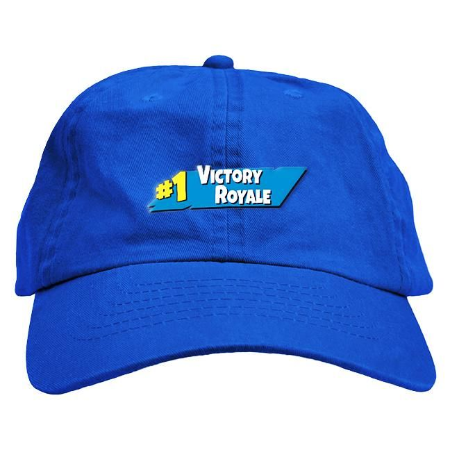 e5adf846601fd Fortnite Victory Royale Dad Hat Dope Hats