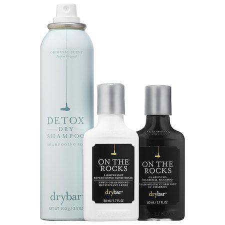 Detox Dry Shampoo On The Rocks Kit Drybar Sephora Dry Shampoo Shampoo Sephora