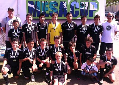 Mission Viejo Soccer Club U13 Boys Make It To The Finals Of The First Tournament Of The Year Soccer Club Soccer Sports