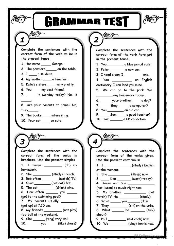 Pin su Worksheets