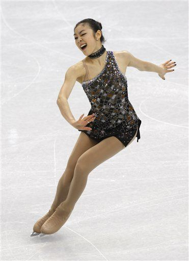 a59fe435bd3c4 Pin by Amber Crispell on skating costume ideas | Kim yuna, Figure ...