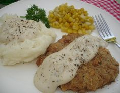 Country Fried Steak~recipe