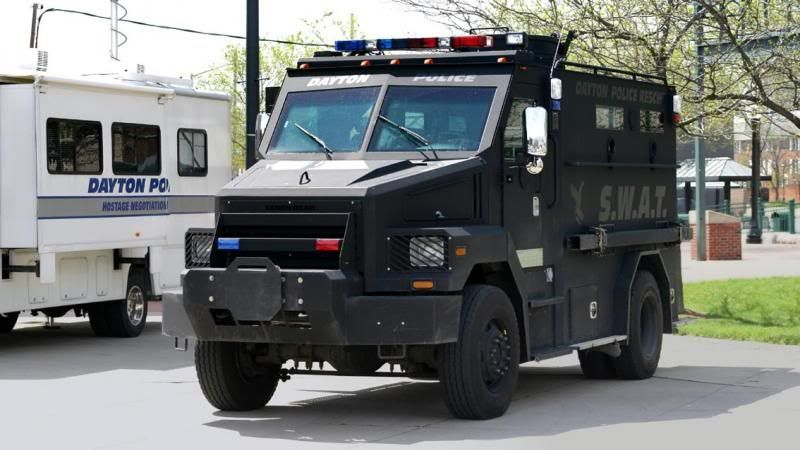Dayton Oh Pd Swat Truck Armored Truck Emergency Vehicles Armored Vehicles