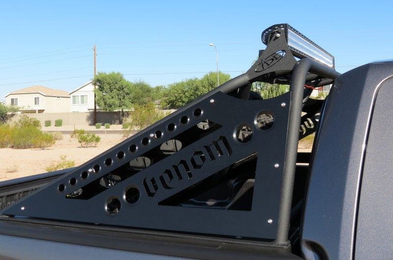 F Series Venom Chase Rack W Tire Carrier Metal Fab