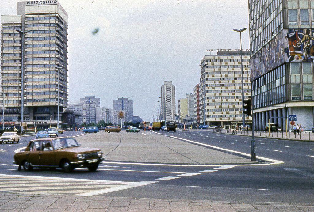 Ddr Berlin 1980 22 West Berlin East Germany East Berlin