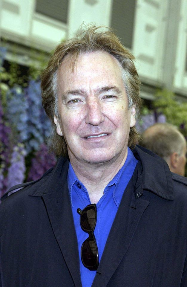 Alan Rickman attends the Chelsea Flower Show, London - 19th May 2003