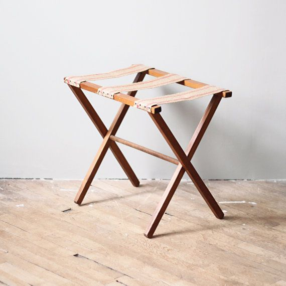 Vintage Luggage Rack Stand For The Home In 2019