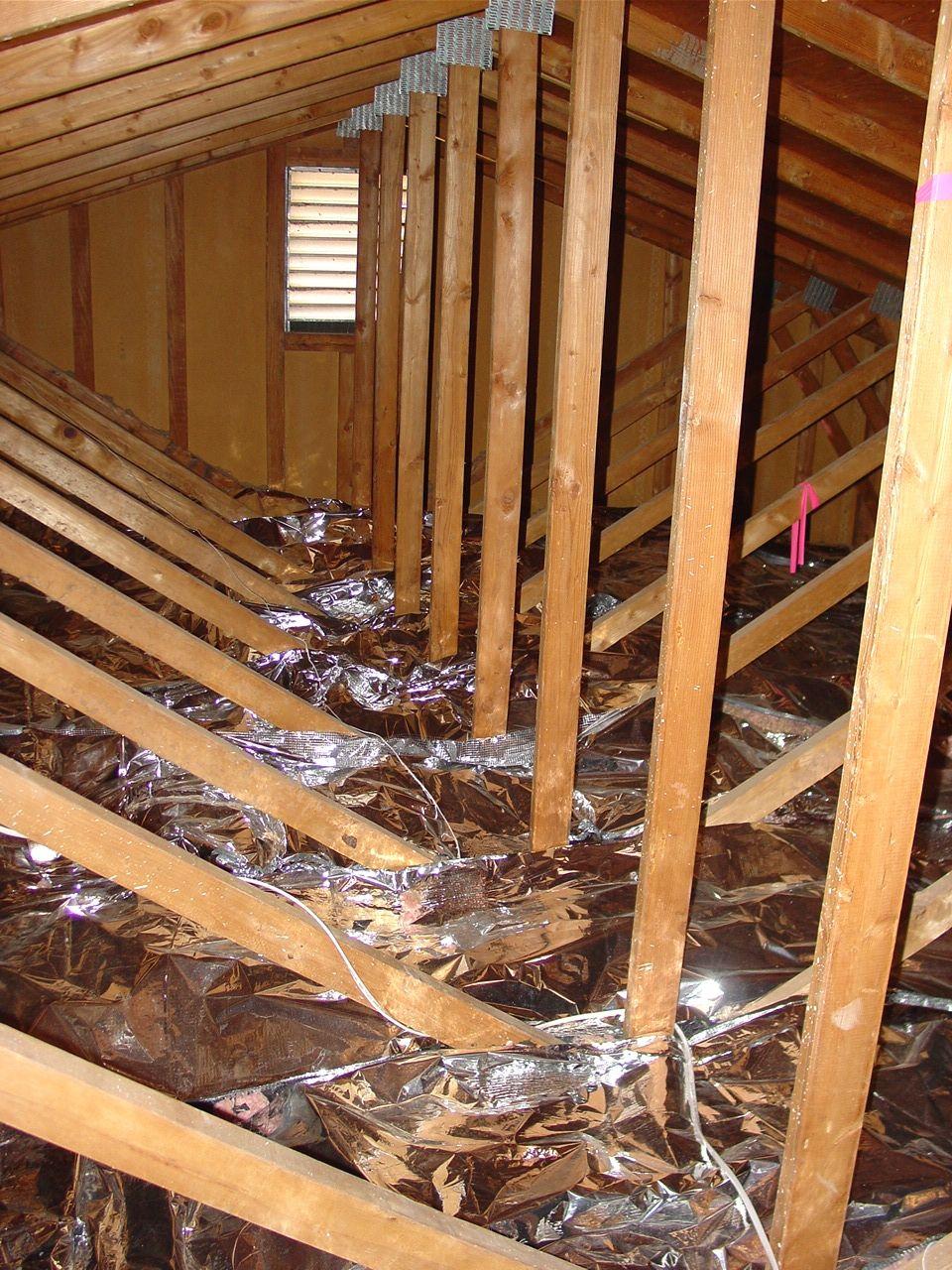 Radiant Barrier Testimonials Attic Lighting Attic Remodel Attic Flooring