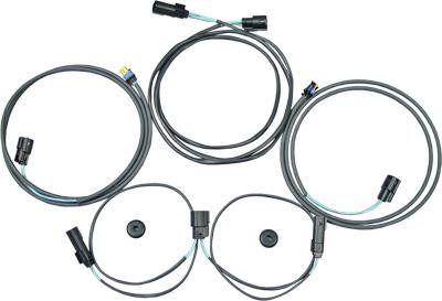 J&M Audio Saddlebag Speaker Wiring Harness Kit for 2014