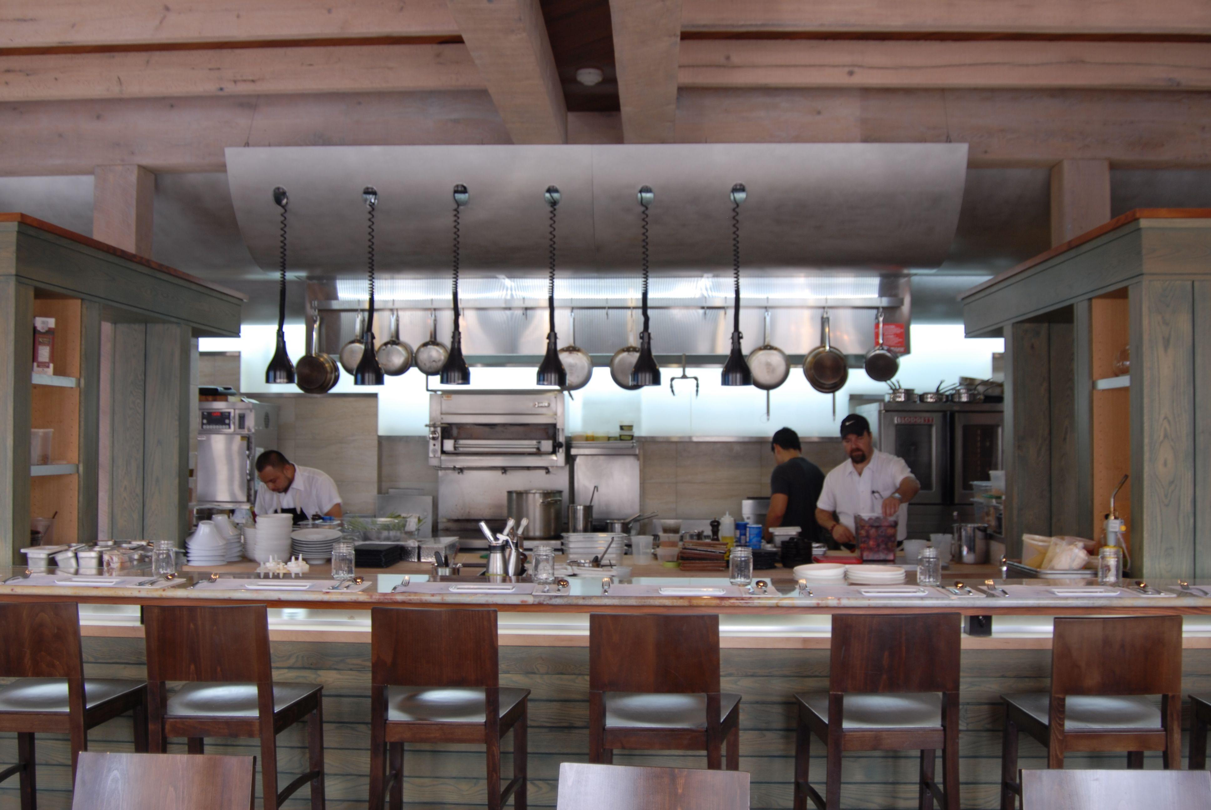 open kitchen restaurant Google Search Kitchen design