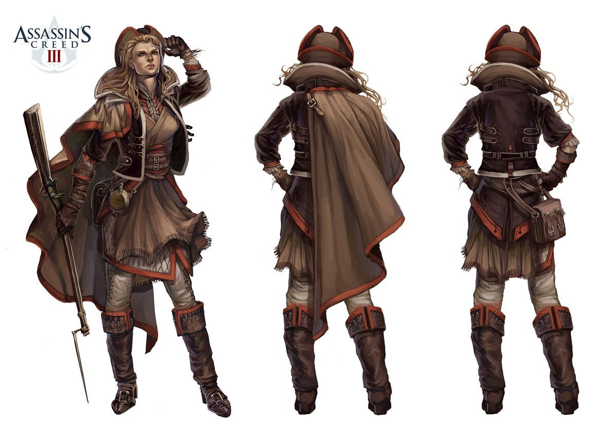 Assassins Creed 3 multiplayer conceptsthe Pioneer
