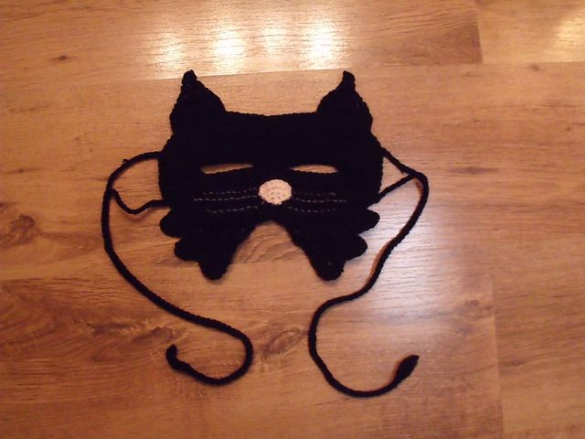 cat mask | Crochet | Pinterest | Antifaz, Mascaras y Crochet patrones