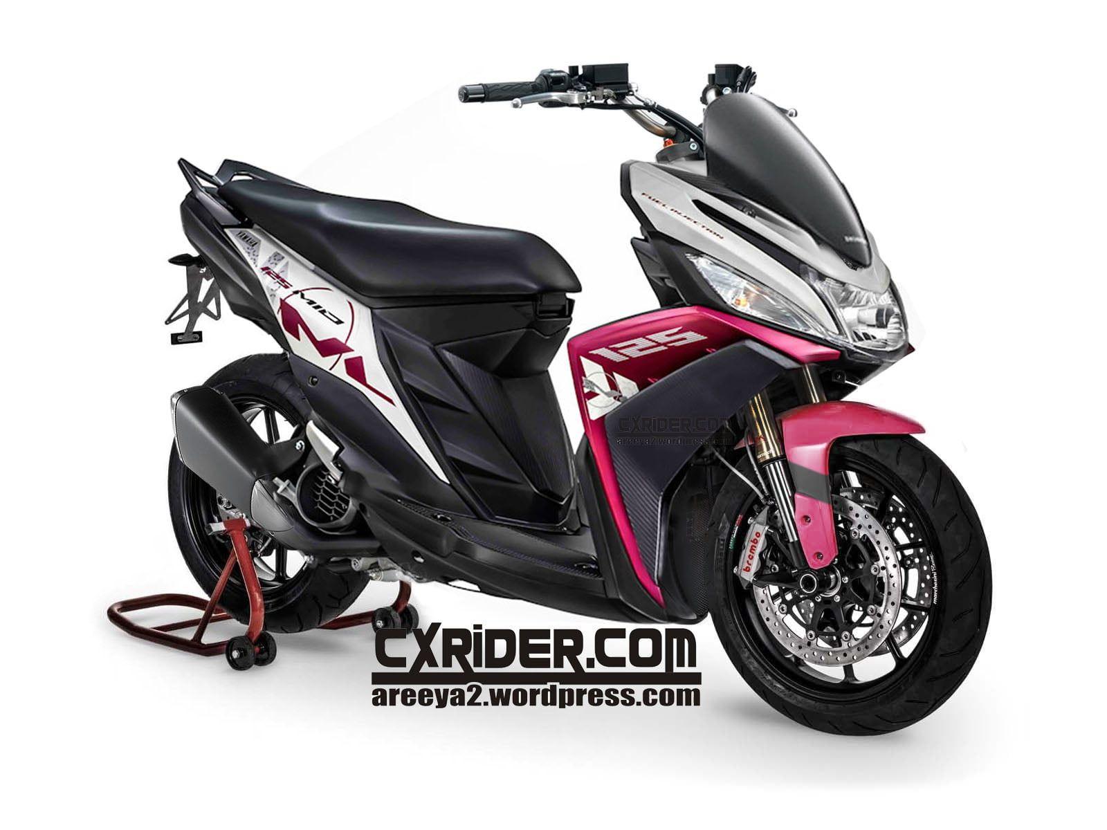 Modifikasi Motor Mio M3 Roda 3 Di 2020 Motor Kendaraan Motor Mobil