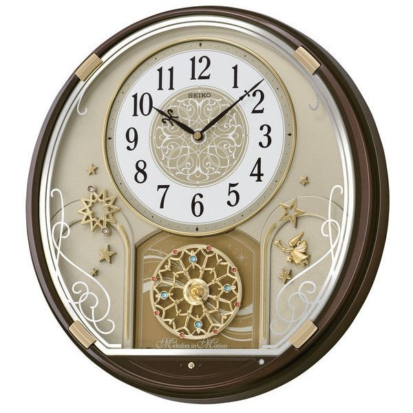 Seiko Clock Melodies In Motion Starry Night Christmas Musical