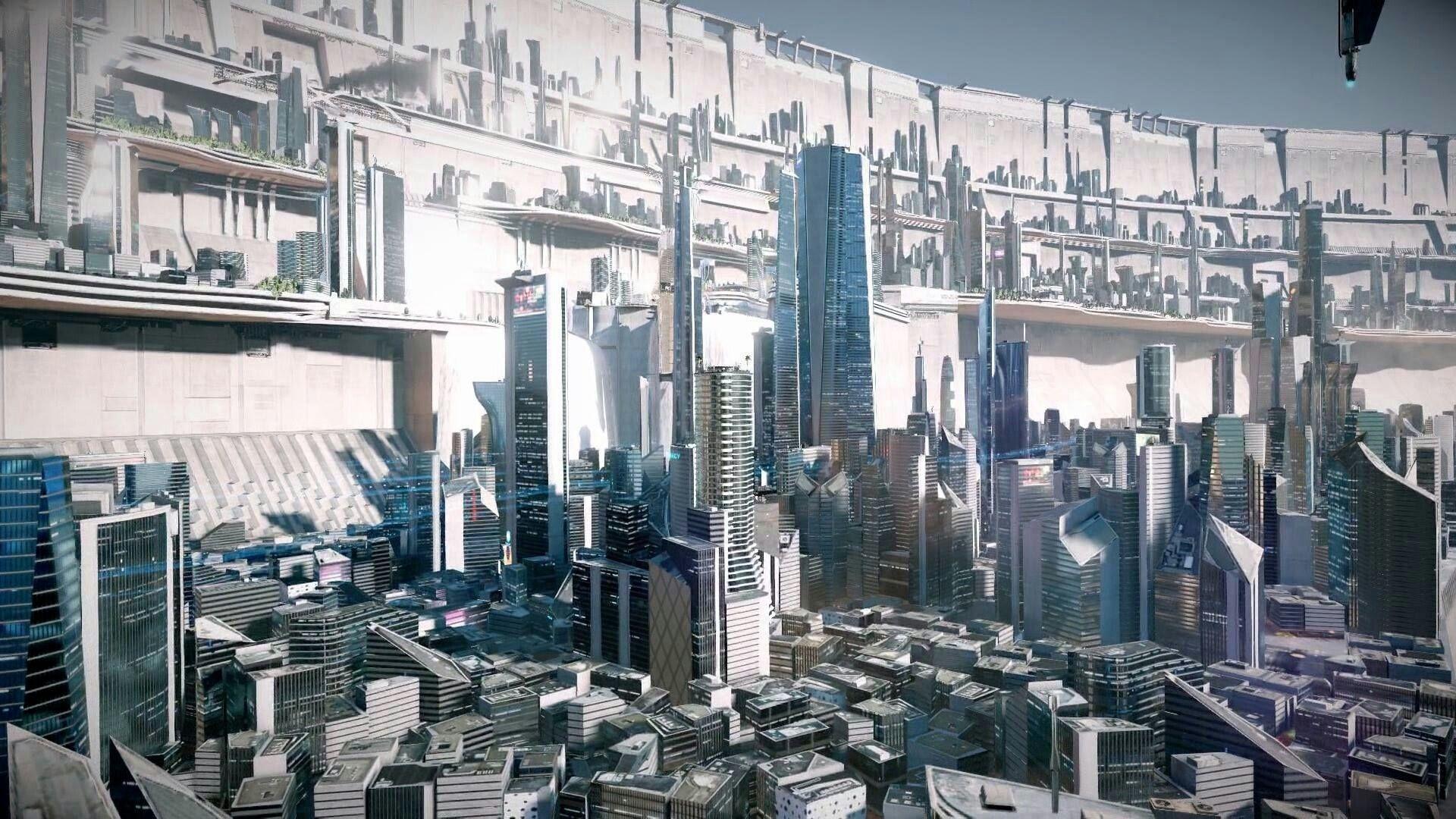 Pin By Dante Close On Sci Fi City Concept Art Futuristic City Sci Fi Concept Art Scifi Fantasy Art