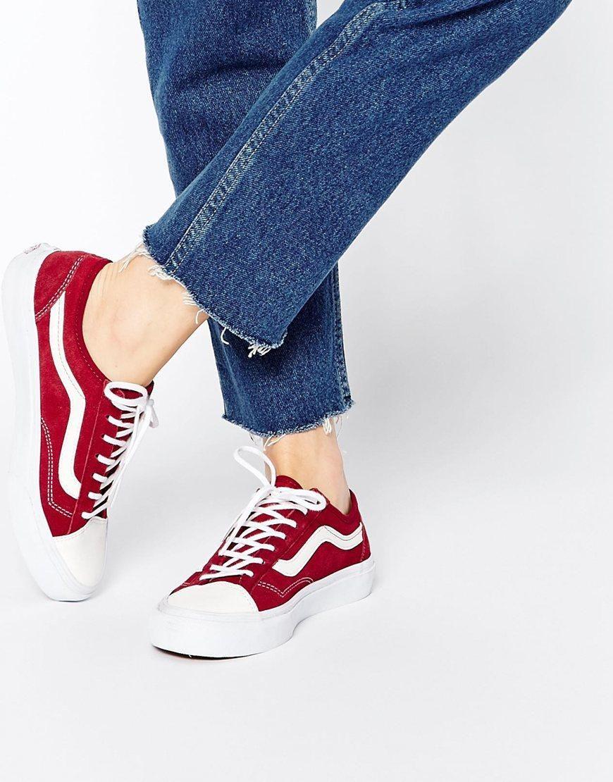 Vans style, Trendy womens sneakers