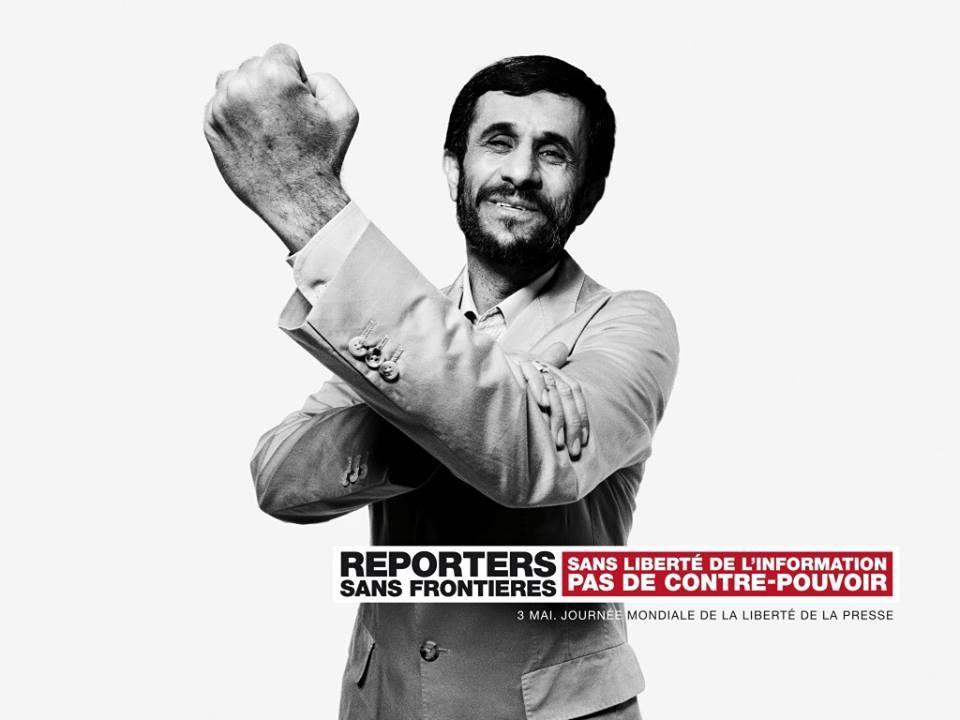 Reporters sans frontieres per la libertà di stampa