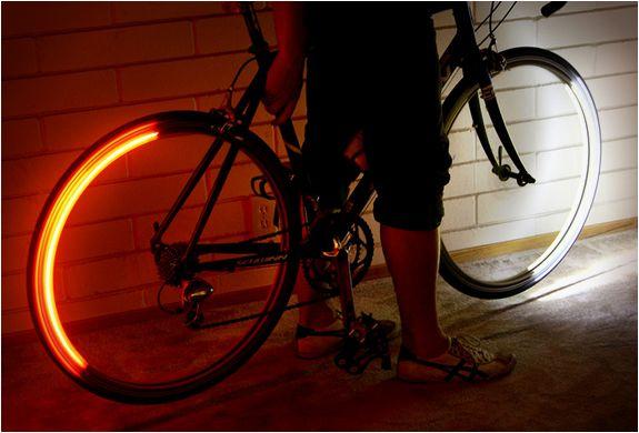 Licht In Fietswiel : Wiel licht
