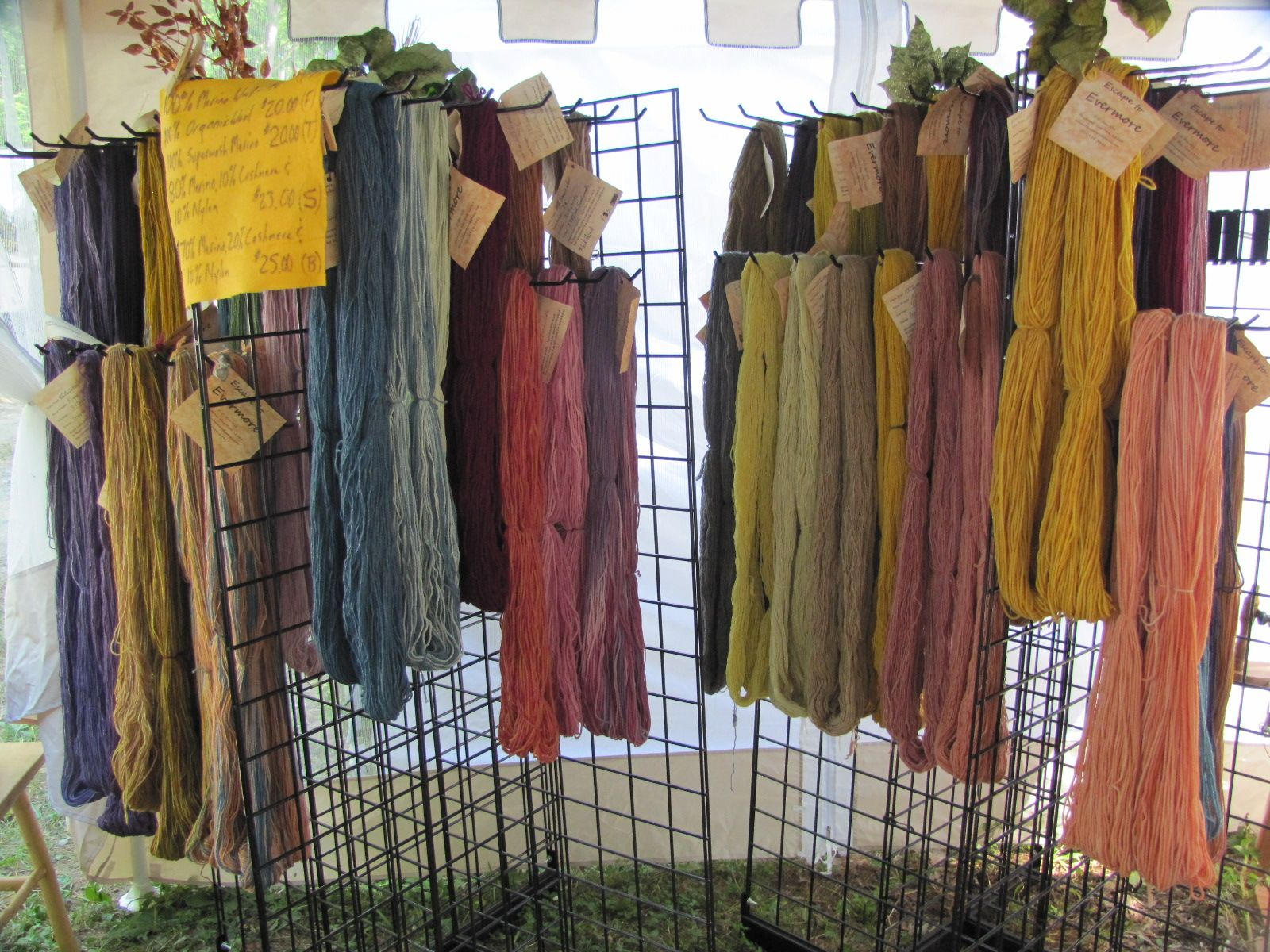 Scarf Display Craft Show Booths Booth Displays