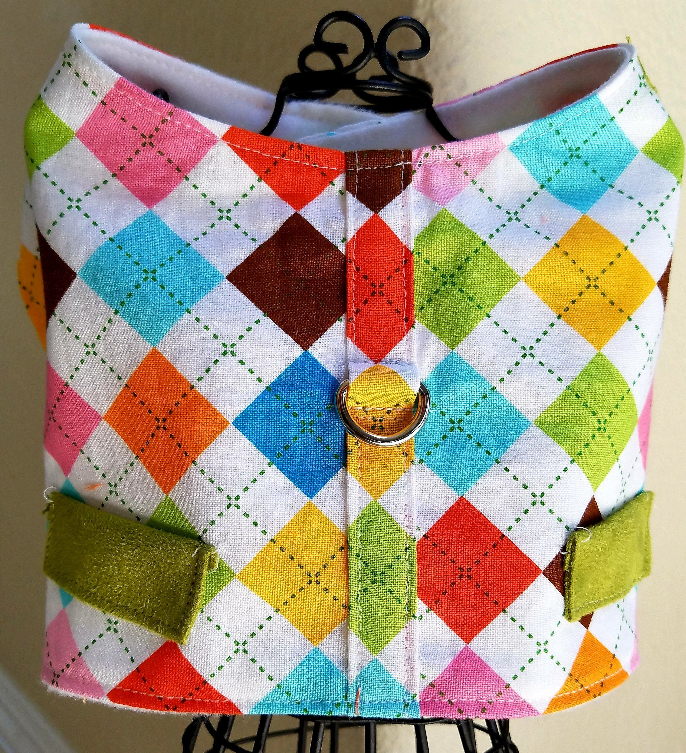 Dog Harness ~Vest ~Dapper Dog ~Puppy ~Pet Apparel ~Dog Clothes ~Couture Pet ~Dog Outfit ~Boy ~Fall ~Matching Dog Clothes ~Year Round clothes