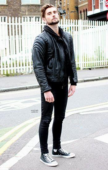 all black urban style #fashion #style #menswear | Mens