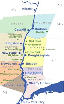 Map Of New York Hudson Valley.Drive The Hudson Valley In The Fall Bucket List In 2019 Hudson