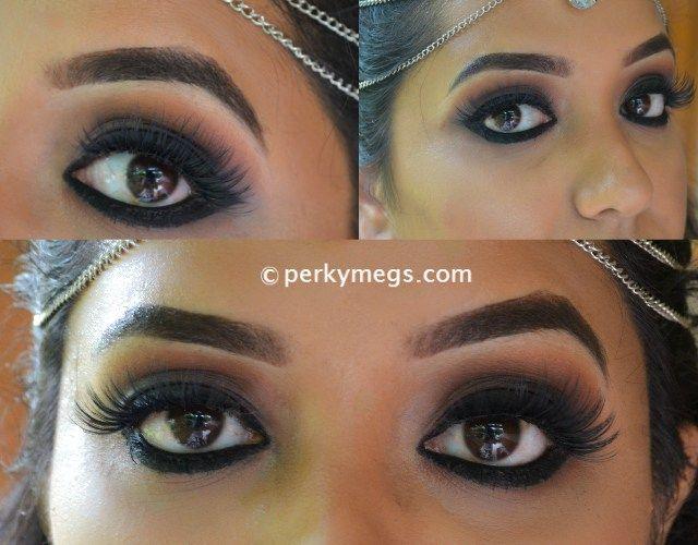 Eye · Deepika Padukone inspired black smokey eye makeup tutorial india.