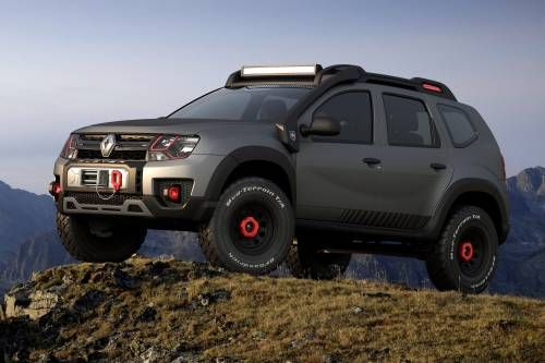Renault Duster Extreme Concept Looks Ready To Conquer Any Terrain