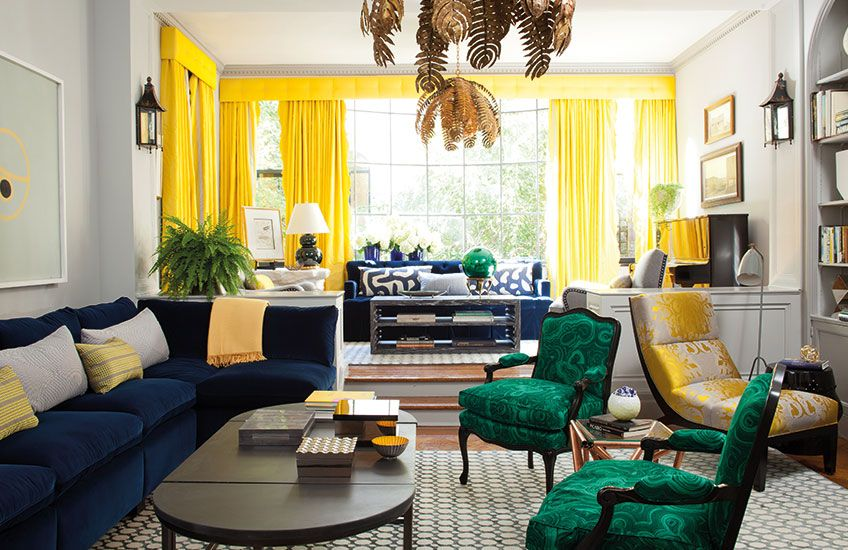 12 Living Room Colour Schemes