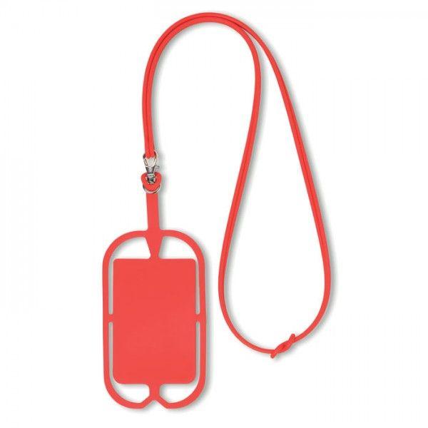 porte carte tour de cou Tour de cou avec porte telephone porte carte adhesif publicitaire