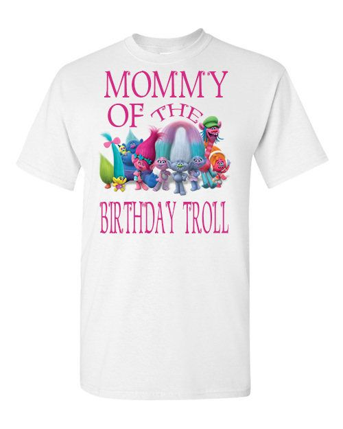 Trolls Mom Shirt 1000 Troll Family Shirts Birthday