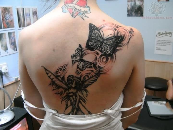 Butterfly Fairy Tattoos Google Search Butterfly Tattoo Girl Tattoos Tattoos